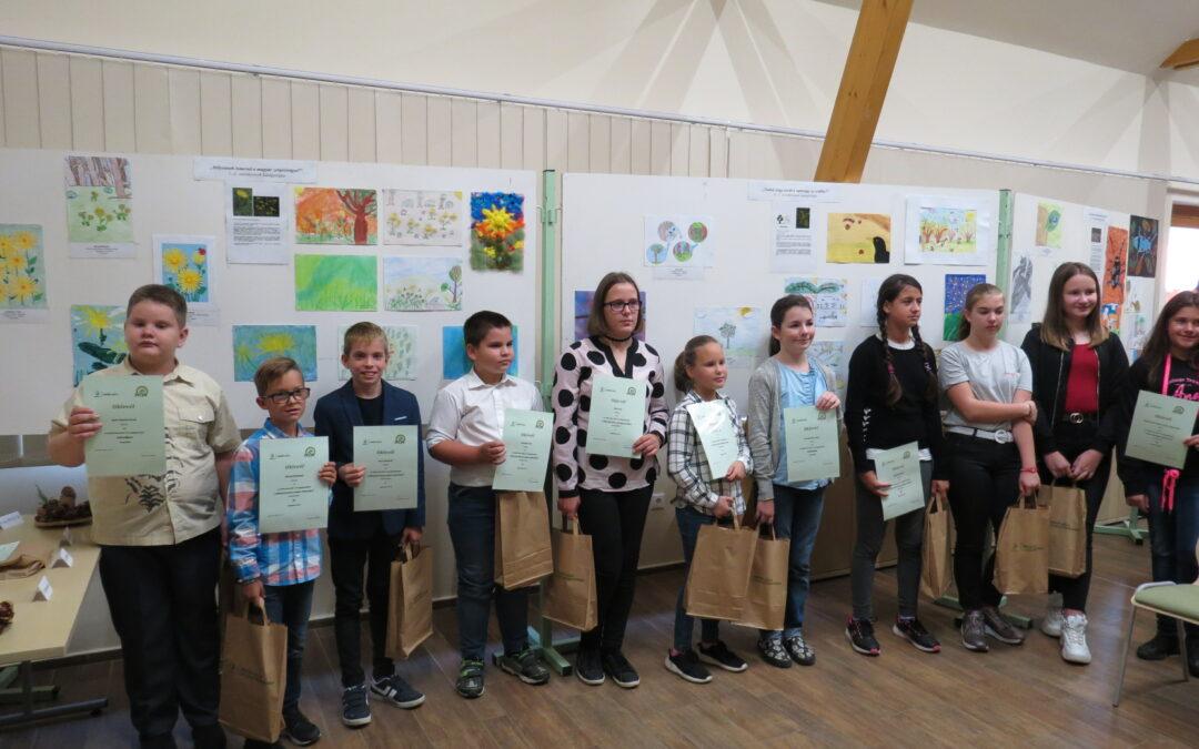 Átadták az Erdők Háza 2019. évi rajzpályázatának díjait
